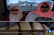 Dua Mahasiswi Asal Aceh Ketangkap Bawa 10 Kilogram Ganja - JPNN.com