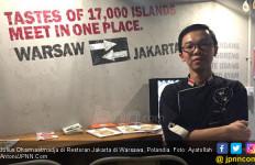 Julius Dharmaatmadja, Peracik Menu Nusantara di Polandia - JPNN.com