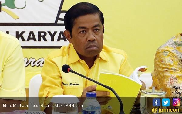 Airlangga Hartarto Usul Idrus Marham jadi Mensos? - JPNN.com