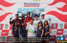Abdul Aziz Bawa Pertamax Motorsport Drift Team Kunci Podium - JPNN.com