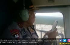 Kapolda Gunakan Helikopter Pantau Lokasi Banjir di Sumut - JPNN.com