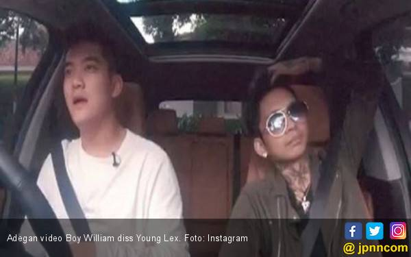 Ouch! Boy William Diss Young Lex Langsung di Depan Mukanya - JPNN.com