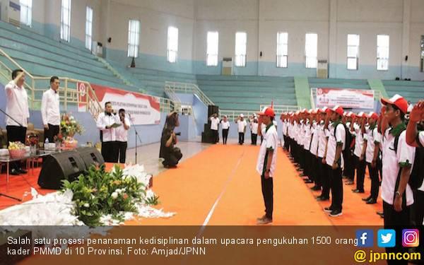 Cerita Peserta PMMD Saat Ditanamkan Kedisiplinan - JPNN.com