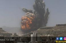 Bom Saudi Akhiri Ketenangan di Ibu Kota Yaman - JPNN.com