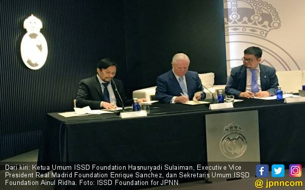 Real Madrid Foundation Perpanjang Kerja Sama di Indonesia - JPNN.com