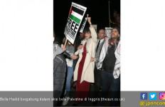 Keren! Model Lingerie Ini Ikut Aksi Bela Palestina - JPNN.com