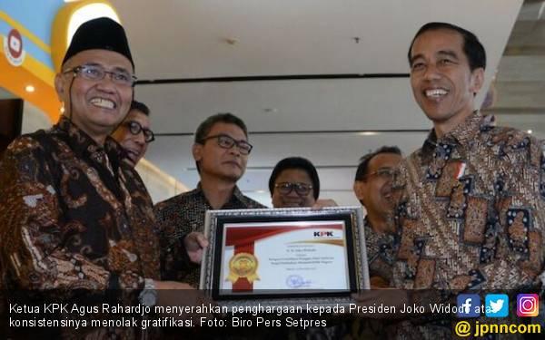 Agus KPK Terkejut Jokowi Ingkar Janji - JPNN.com