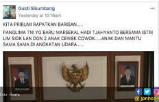 Kok Bisa-bisanya Panglima TNI Difitnah Sekejam Ini - JPNN.com