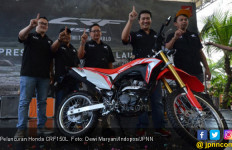 CRF150L, Motor Dua Alam Besutan Honda - JPNN.com