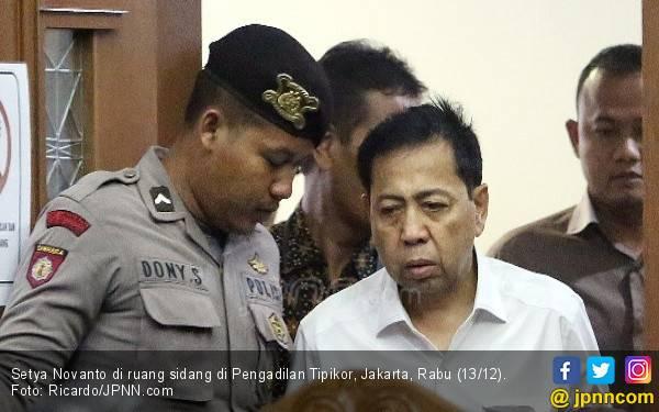 Merasa Tua dan Sakit-sakitan, Novanto Minta Dihukum Ringan - JPNN.com