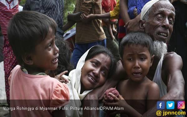 Bangladesh Paksa Pengungsi Rohingya Pulang ke Myanmar - JPNN.com