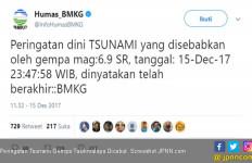 Peringatan Tsunami Gempa Tasikmalaya Dicabut - JPNN.com