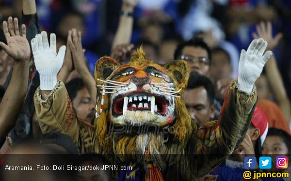Arema FC Berambisi Sapu Bersih Lima Laga Sisa - JPNN.com