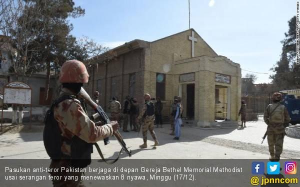 Sasar 400 Nyawa, Pelaku Teror Gereja Pakistan Bawa Bom 15 Kg - JPNN.com