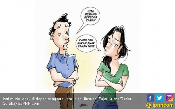 Istri Muda, Enak di Depan Sengsara Kemudian - JPNN.com