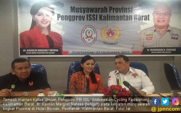 Kepemimpinan ISSI Kalbar Berganti dari Karolin ke Syawal - JPNN.com