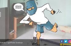 Ha Ha Ha... Maling Ponsel Bengep Gara-gara Injak Kaleng Susu - JPNN.com