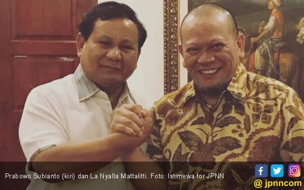 Tagih Janji La Nyalla, Anak Buah Prabowo: Mau Sendiri atau Orang yang Motong? - JPNN.com