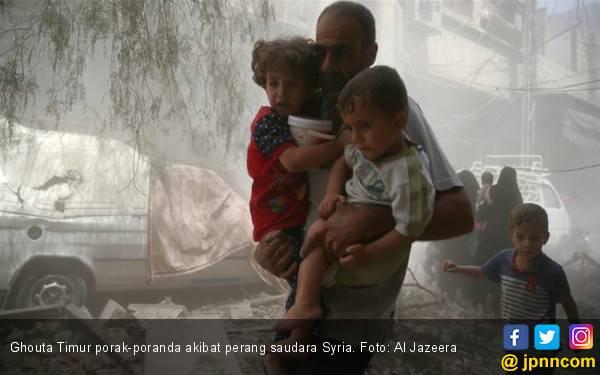 Aleppo Kembali Dibombardir Membabi Buta - JPNN.com