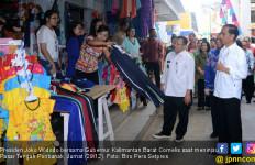 Jokowi Lunasi Janji ke Pedagang Pasar di Pontianak - JPNN.com