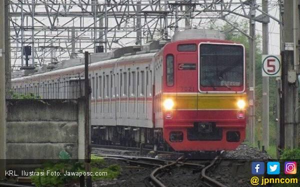 PascaKRL Anjlok, 2 Jalur KA Lintas Jakarta - Bogor Sudah Bisa Dioperasikan - JPNN.com