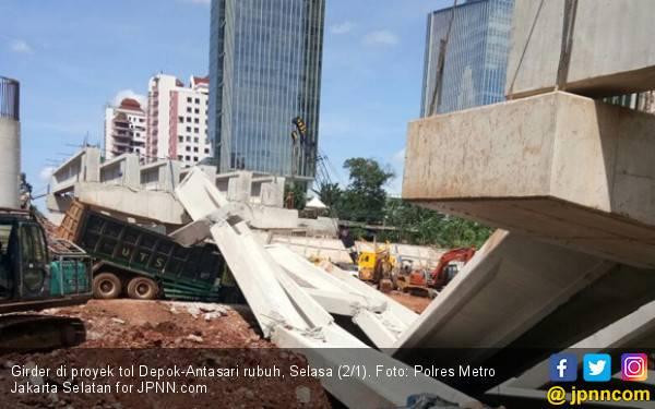 Sering Celaka, Proyek Infrastruktur Dihentikan Sementara - JPNN.com