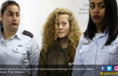 ABG Penampar Prajurit Israel Jadi Simbol Perlawanan - JPNN.com
