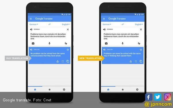 Kemampuan Fitur Kamera Google Translate Ditingkatkan, Bisa Baca 60 Bahasa Baru - JPNN.com