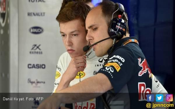 Dibuang Red Bull, Daniil Kvyat Bakal Ditampung Ferrari - JPNN.com