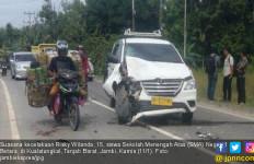 Kecelakaan, Siswa SMA Tewas Mengenaskan Saat Pulang Sekolah - JPNN.com