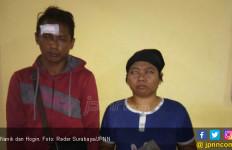 Cemburu Buta, Istri Kepruk Suami Gunakan Paving - JPNN.com