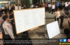 Ini Daftar Nama Korban Selasar BEI Runtuh - JPNN.com