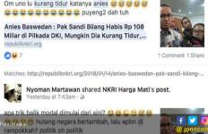 Ssstt, Ada Upaya Benturkan Anies dengan Bang Sandi - JPNN.com