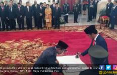 Sah! Idrus Jadi Mensos, Moeldoko Pimpin Staf Presiden - JPNN.com