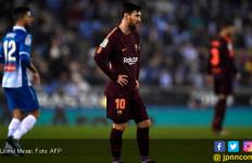 Lionel Messi Gagal Penalti, Barcelona Keok di Kaki Espanyol - JPNN.com