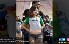 Viral! Lomba Burung Bonus Tarian Panas di Surabaya - JPNN.com