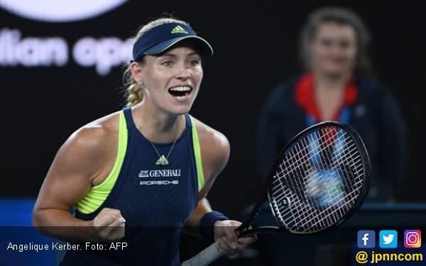 Permalukan Sharapova, Kerber Masuk 16 Besar Australian Open - JPNN.com