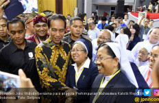 Berkumpul dengan Mahasiswa Katolik, Jokowi Beri Pesan Khusus - JPNN.com