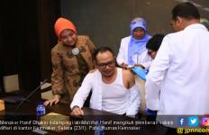 Pegawai Kemnaker Serempak Ikuti Vaksinasi Difteri - JPNN.com