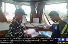 Cegah Kegiatan Ilegal, Posal Muara Gelar Patroli Rutin - JPNN.com