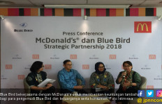Blue Bird Gandeng McDonald's Indonesia - JPNN.com