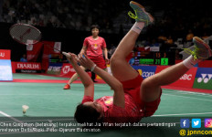 Lihatlah Saat Juara Dunia BWF Takluk di Tangan Della/Rizki - JPNN.com