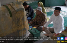 Saifudin Pengin Jadi Pemimpin seperti Sultan Badaruddin II - JPNN.com