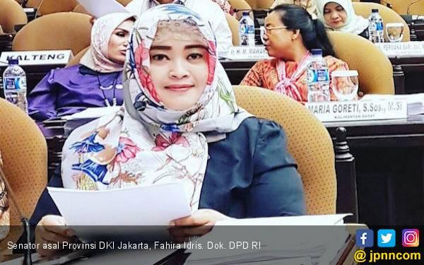Fahira Idris Minta Pendatang Bantu Pemprov DKI - JPNN.com
