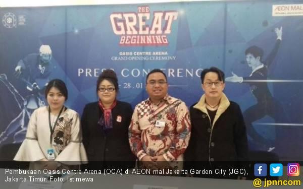 Bidik Atlet Baru, Arena Ice Skating Bertambah di Indonesia - JPNN.com
