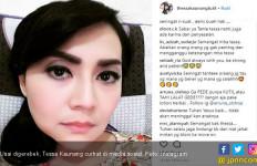 Dituding Kumpul Kebo, Begini Kesedihan Tessa Kaunang - JPNN.com