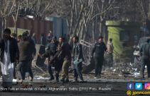 Biadab, Bom Truk Taliban Meledak di Depan Pintu Rumah Sakit - JPNN.com