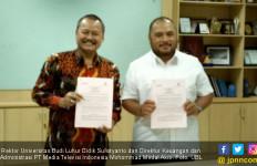 Tingkatkan Mutu SDM, Universitas Budi Luhur Gandeng Metro TV - JPNN.com