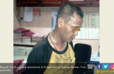 Brigadir Hendra Mengamuk Lalu Rusak Tiga Unit Mobil - JPNN.com