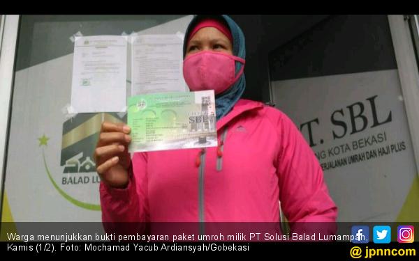 Bos Travel Umroh SBL Diciduk, Warga Geruduk Kantor di Bekasi - JPNN.com